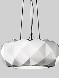 40W Moderno / Contemporáneo Galvanizado Metal Lámparas Colgantes Dormitorio / Comedor