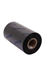 Sinmark Quality Wax Ribbon 40 ~ 110Mmx300M Black