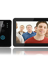 ENNIO 9 Inch Touch Screen Video Recording Color Visual Intercom Doorbell hd 1000 Line