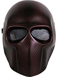cor vermelha outros acessórios de proteção material de guerra ao ar livre máscara de protecção jogos