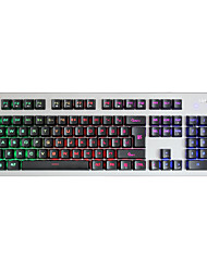SANGEE SKU703 LED Backlit Light Up Multi-media Games Gaming Keyboard