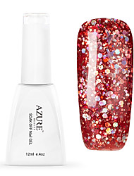 Azure New Arrival 12ml Gel Polish Universe Effect Gel Scorn of the Moon Glitter Color UV Nail Lacquer