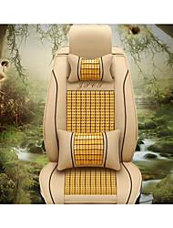 les nouveaux bambou siège en cuir mat fraîche voiture sellerie de voiture d'été fournitures automobiles