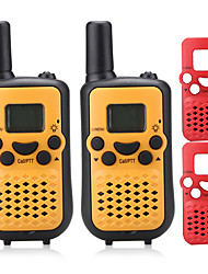 T899C Walkie Talkie 0.5W 8 Channels 400-470MHz AAA alkaline battery 3KM-5KMVOX / Cifrado / Pantalla LCD / Monitor / Escanear /