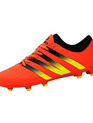 Hombre-Tacón Plano-Confort-Zapatillas de deporte-Deporte-PU-Negro / Amarillo / Naranja