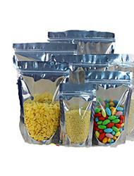 Ziplock фольга / алюминий инь и янь тянуть кости мешки для упаковки пищевых продуктов мешок запечатывания стоящий десять 12 * 18 * 3.5-18