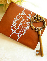 10pcs/Lot - Key to My Heart Bottle Opener in Thank You Gift Bag Beter Gifts® Life Style