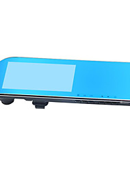 Driving Recorder HD Blue Lens Double Lens Visual Driving Three In One Recorder Rear View Mirror