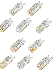 6W G9 LED à Double Broches T 58 SMD 3014 300-450 lm Blanc Chaud Blanc Froid Blanc Naturel Etanches Décorative AC 100-240 AC 110-130 V10