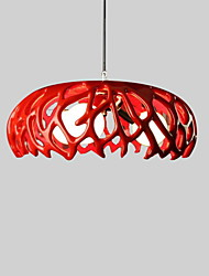 MAX 40W Pendant Light ,  Modern/Contemporary Painting Feature for Mini Style ResinLiving Room / Bedroom / Dining Room / Study Room/Office