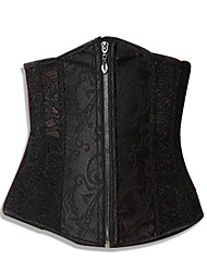 Hot Sexy Women Lace Tops Steel Bustier Lingerie Over bust Corset cincher Dress Waist Training corset