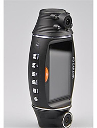 R310 Dual Lens Drive Recorder GPS Track 2.7 Inch HD Drive Recorder