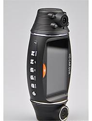 GPS track gravador r310 dupla drive gravador de lente de 2,7 polegadas unidade hd