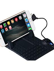 sílica gel telefone móvel anti deslizamento de sucção magnética universal de carregamento suporte por telefone de suporte de navegação do