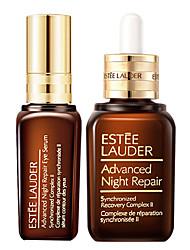 Reparação Estée Lauder Advanced Night para Face e Olhos:. 1. Sincronizado Recuperação Complexo II 50ml 2 Eye Serum Infusion 15ml