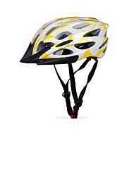 Capacete(Amarelo / Branco / Vermelho,PC / EPS) -Montanha / Estrada / Esportes-Mulheres / Homens / Unisexo 27 AberturasCiclismo / Ciclismo