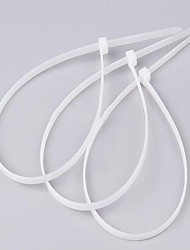 Self-Locking Nylon Cable Ties 4 * 400Mm /3.6*400 Gb Environmental Cable Tie Strap White