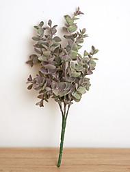 1 Филиал Полиэстер Пластик Pастений Букеты на стол Искусственные Цветы