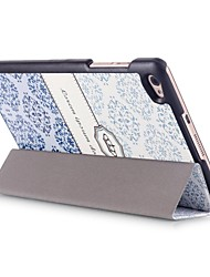 8 Inch Magnetic Buckle Pattern PU Leather Case with Sleep for Huawei MediaPad M2 801W/803L (Assorted Colors)