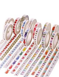 Scrapbooking & Stamping 1pc Colorful Masking tape
