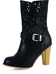 Women's Heels Spring / Fall / WinterHeels / CowboyRiding Boots / Fashion Boots / Motorcycle Boots / Bootie / Combat