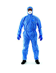 Enhanced Blue Siamese Anti-static Dust-proof Clothing  Size  XL