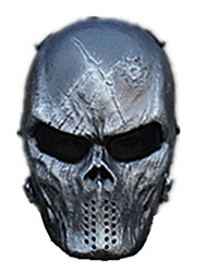 Black Color, Other Material Protection Accessories Black-Faced God Outdoor Games Mask