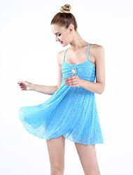 Vestidos(Como en la foto,Espándex / Lentejuela / Licra,Ballet / Danza Moderna / Desempeño) -Ballet / Danza Moderna / Desempeño- paraMujer