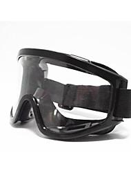 étanche à la poussière et des lunettes de sécurité de vent preuve (noir)