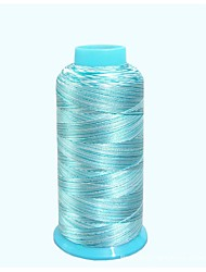 Rosa Chiclete / Marrom / Azul Céu Charmeuse 1 pç
