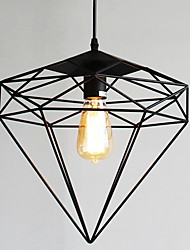 E26/E27 Pendant Light ,  Retro  for Designers MetalLiving Room / Bedroom / Dining Room / Kitchen / Study Room/Office /