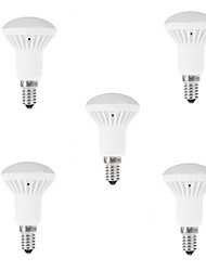 5pcs R50 7W E14 LED Globe Spot Light Bulb Warm/Cool White Bulb(AC85-265V)