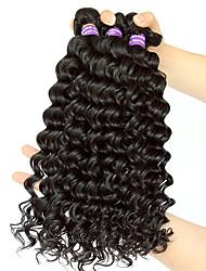 """10""""-26""""Malaysian Virgin Hair 3Pcs/Lot Malaysian Curly Hair Deep Wave Human Hair Weave Malaysian Deep Wave"""