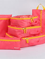 Travel Bag Travel Trolley Travel Luggage Bag Essential Finishing Six Sets