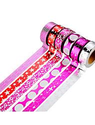 Wedding 6pcs Colorful Masking tape
