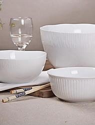 acho que contraiu a alta temperatura porcelana branca série de cerâmica