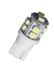 20pcs T10 blanc 168 194 501 W5W 10 SMD LED côté de la voiture cale lampe à ampoule DC 12V
