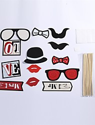 13 Pcs Party Photo Booth Props Holiday Decorations Party MasksCool For Holiday Party Graduation Birthdays Wedding