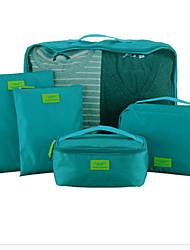 saco de vestuário e calçado multifuncional acabamento sete pedaço saco de viagem