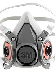 half-face máscara de poeira respiradores máscara protetora (3m 6200 6100)
