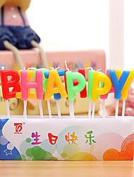 Birthday Candles, Letters, Ideas, Creative, Lovely Cartoons, Birthday Candles, Decorative Balls