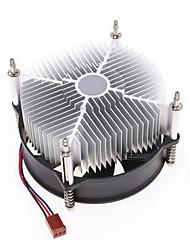 Kyushu ck - 77502 radiatore CPU Intel LGA775 ultra-silenziosa ventola della CPU del computer