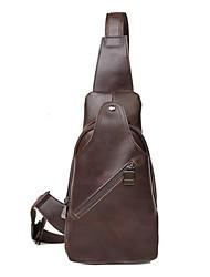 Men PU Casual Shoulder Bag