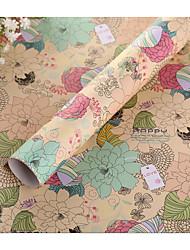 motif corée fleur sud emballage papier cadeau livre papier d'emballage
