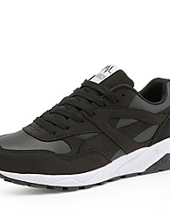 Da donna-Sneakers-Tempo libero / Sportivo-Comoda-Piatto-Tulle-Nero / Grigio