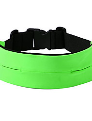 Поясные сумки / Сотовый телефон сумка Водонепроницаемый / Быстросохнущий / Телефон/Iphone Бег Все Сотовый телефон Зеленый Нейлон