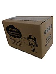 couleur jaune d'autres emballages de matériel&expédition cinq couches boîtes d'emballage d'impression un paquet de neuf