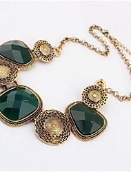 Chain Bracelets 1pc,Personality Geometric Hunter Green / Coppery Alloy Jewelry Gifts