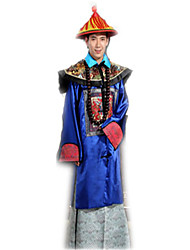 Costumes Vestment Halloween Blue Jacquard Satin Leotard/Onesie / Necklace / Hat