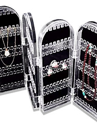 New Arrival 2016 Acrylic Jewelry Storage Box High Quality Box Organizer Plastic Box Jewelry Organizer Display Holder